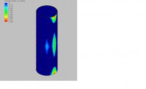 FRP Radome FEA Plot by FiberDesign